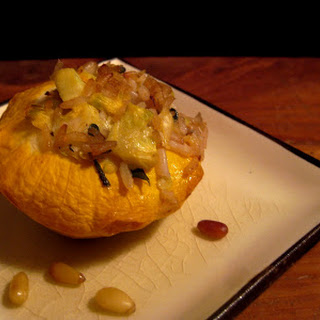 Stuffed Patty Pan Squash