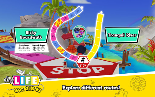 THE GAME OF LIFE Vacations - screenshot