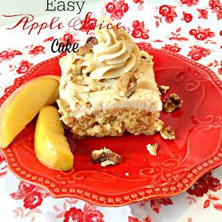 Easy Apple Spice Cake.