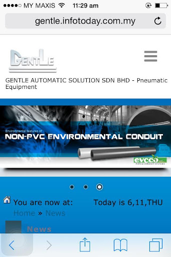 GENTLE AUTOMATIC SOLUTION S B