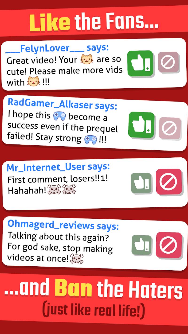 Vlogger Go Viral - Tuber Game Screenshot 4