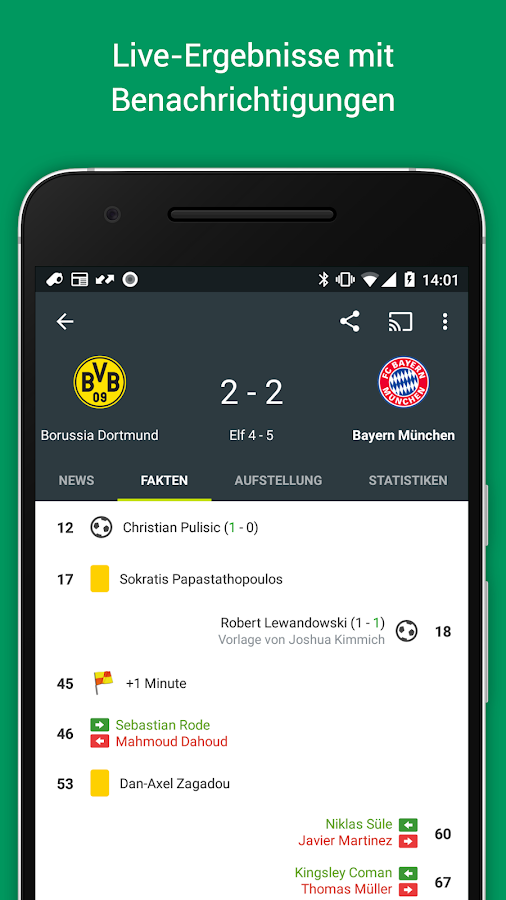fotmob fu ball ergebnisse live android apps auf google