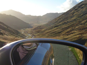 Photo: Descent from the summit of the Wrynose Pass