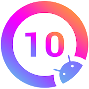 Q Launcher for Q 10.0 launcher, Android Q 10 style