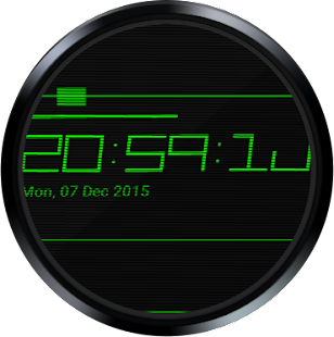 Digistyle Watch Face- screenshot thumbnail