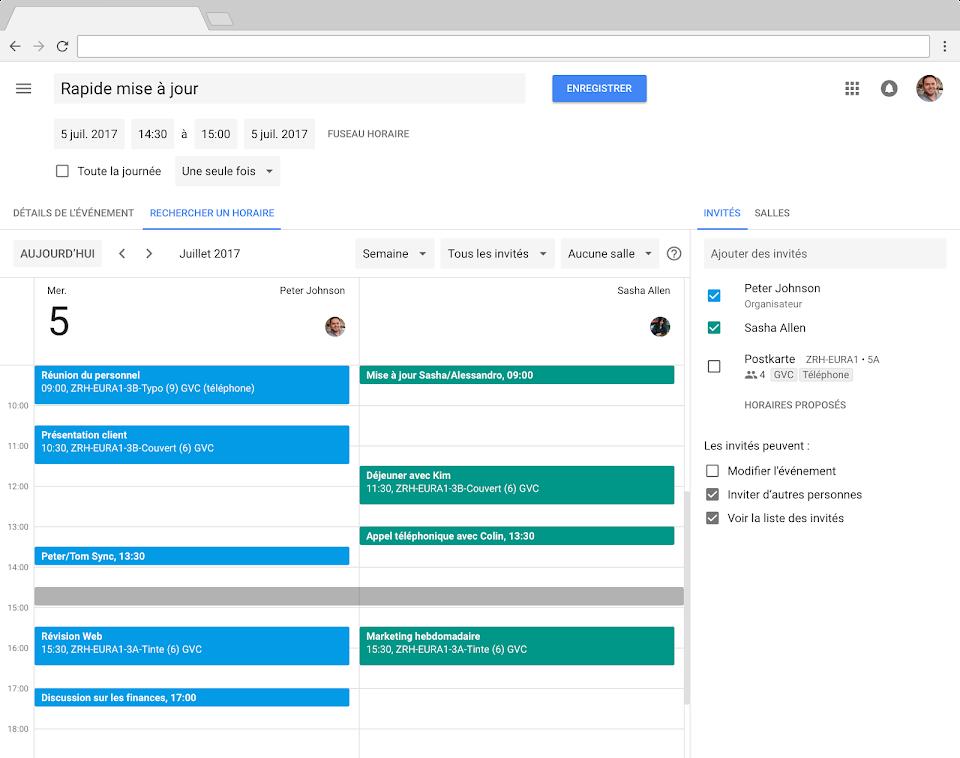 Calendrier Partage En Ligne.Google Agenda Agendas En Ligne Pour Votre Entreprise G Suite