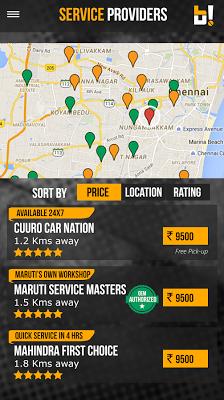 GoBumpr Car & Bike Service - screenshot