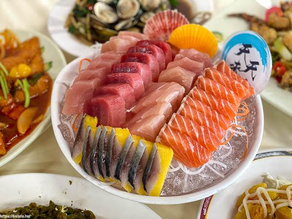 墾丁後壁湖-天天來易之林海鮮餐廳(百元生魚片)