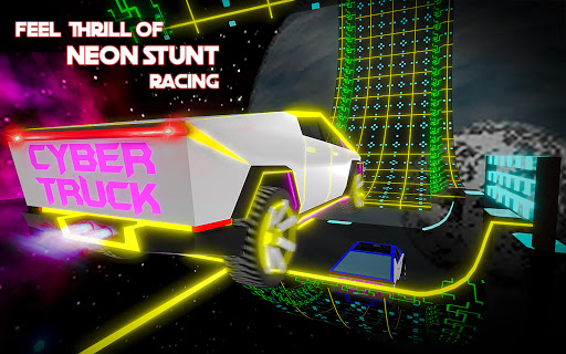 Cybertruck Sky Stunts: Celestial Tracks  captures d'u00e9cran 1
