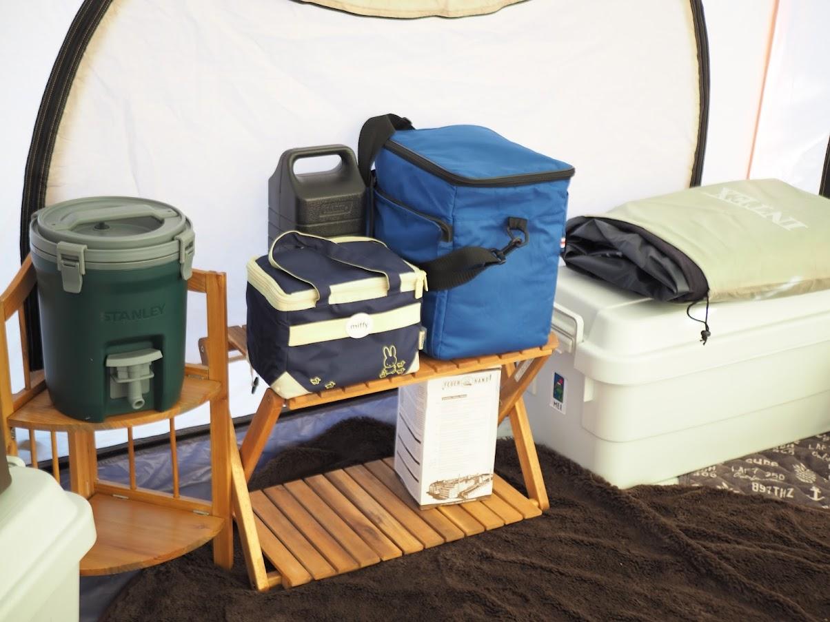 キャンプ 荷物