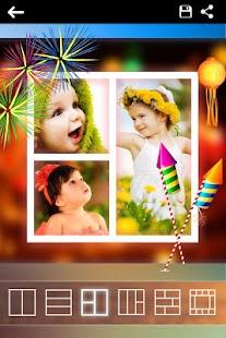 Diwali Photo Collage Maker - náhled