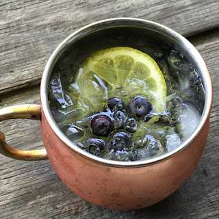 Lemon Blueberry Moscow Mule.