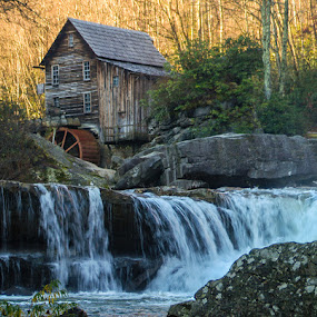 Gist Mill by Stephen Majchrzak - Landscapes Forests