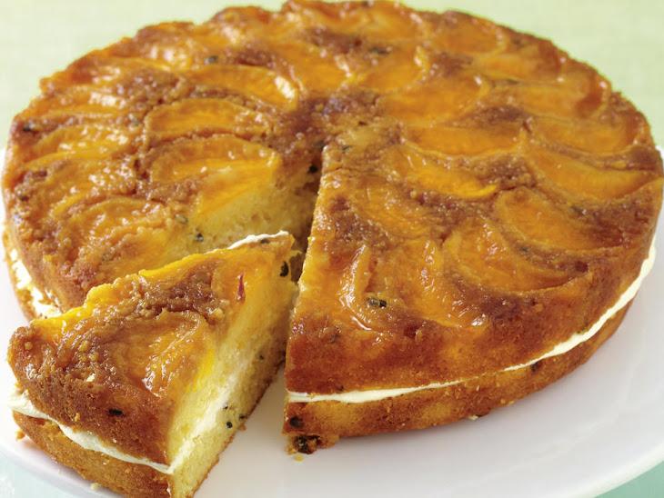 Mandarin Orange and Passionfruit Cake Recipe