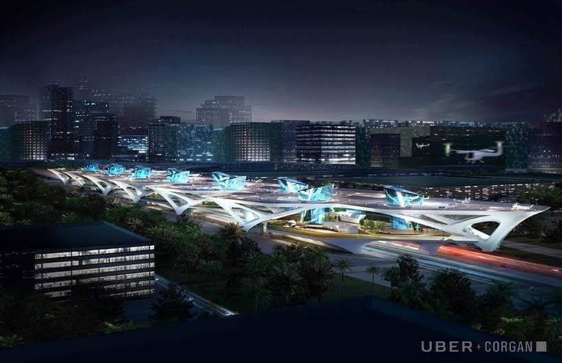 UberAIR da a conocer los diseños para sus plataformas de aterrizaje y despegue en vertical