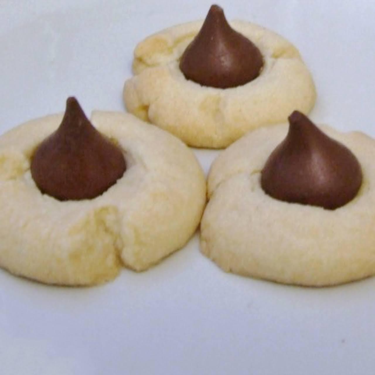 Shortbread Hershey Kiss Cookies