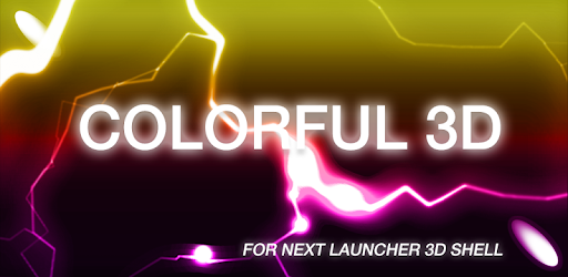 Colorful 3D for Next Launcher