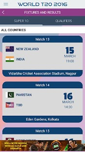 Live Cricket Scores 2016- screenshot thumbnail