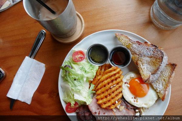 貳樓早午餐- 混搭北歐溫暖工業風,好似西餐美式新料理