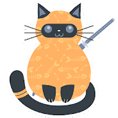 fat cat ninja - game for cats