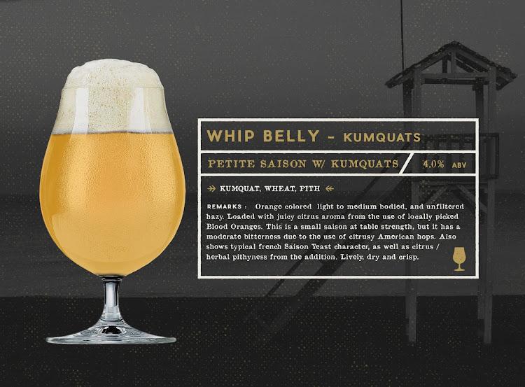 Logo of Gunwhale Ales Whip Belly - Kumquat