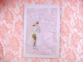 Photo: CARTE MARIAGE POUR MA COUSINE SONIA