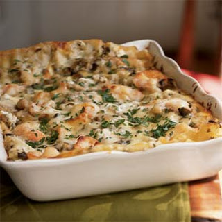 Seafood Lasagna.