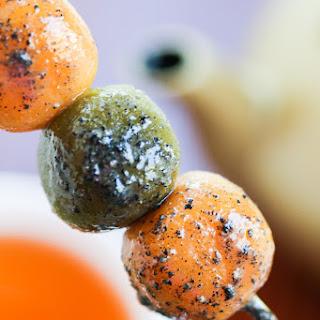 Pumpkin & Green Tea Dango