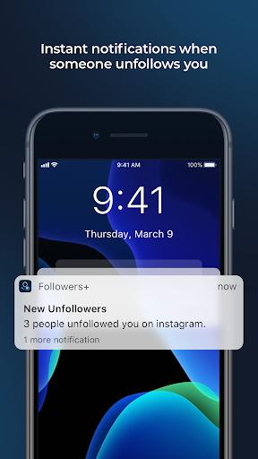 Followers+ Followers Analytics for Instagram 1.08 screenshots 6