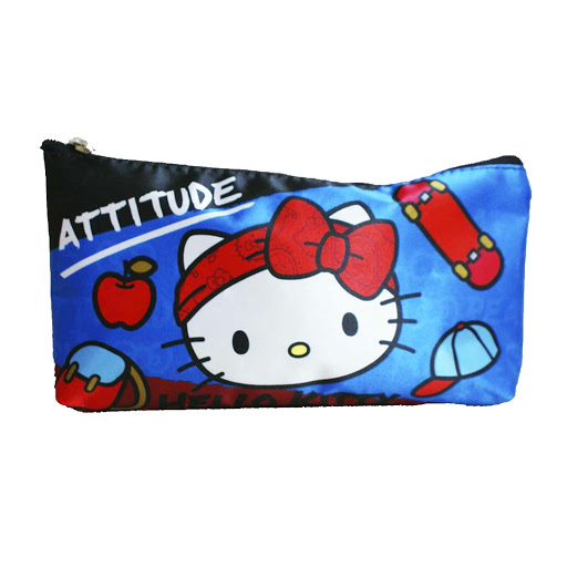 cartuchera hello kitty attitude jetbag