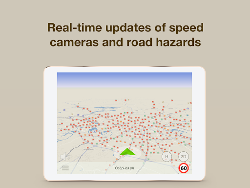 Speed Cameras & HUD, Radar Detector - ContraCam 1.3.2.1-Google screenshots 9