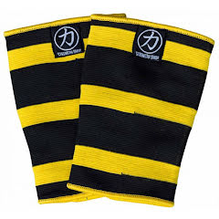 Double Ply Thor Knee Sleeves - Yellow/Black
