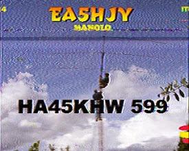 Photo: EA5HJY