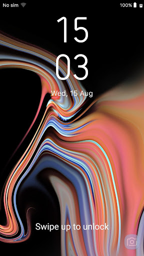 Galaxy Note 9 LockScreen app (apk) free download for Android