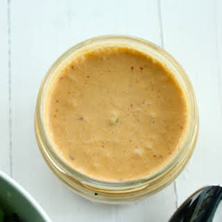 Five Ingredient Red Curry Coconut Sauce or Dressing.