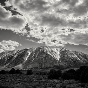Thor by Michael Keel - Black & White Landscapes ( sierra nevada, convict lake, convict lake mountains snow, sierra )