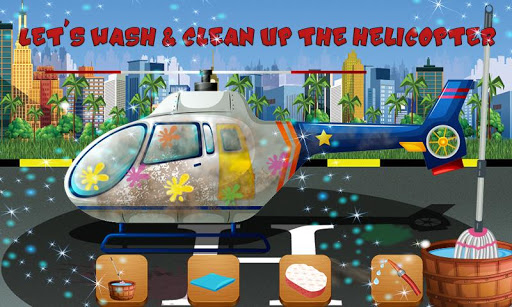 Helicopter Repair & Wash Game 1.0 5