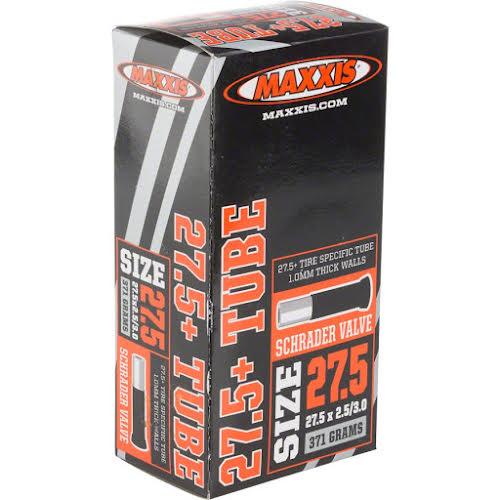 Maxxis 27.5 x 2.5/3.0 Schrader Valve, 1.0mm Fat / Plus Tube