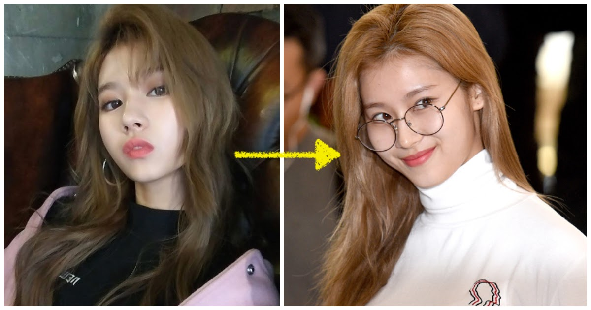 Not A Single Twice Member Had Makeup On At The Airport This Morning Koreaboo