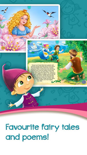 Azbooks - kid's fairy tales, songs, poems & games screenshot 2