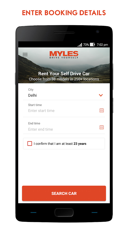 Myles - Self Drive Car Rental- screenshot