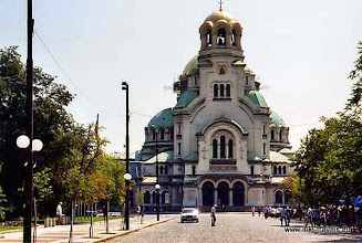 Photo: Sofia, Alexander Nevski kathedraal   Alexander Nevski Cathedral.  www.loki-travels.eu