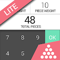 Count scale lite digital scale icon