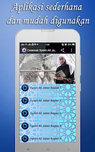 Ceramah Syekh Ali Jaber Mp3 - náhled
