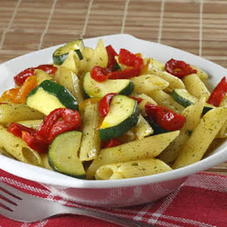 Baked Pasta with Vegetables.