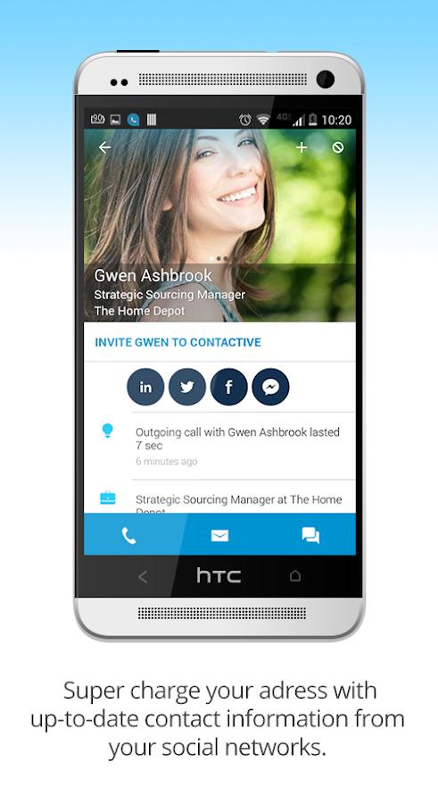Contactive - Free Caller ID- screenshot