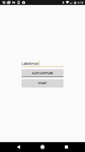 Face recognition screenshot