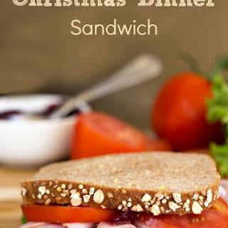 Christmas Dinner Sandwich.
