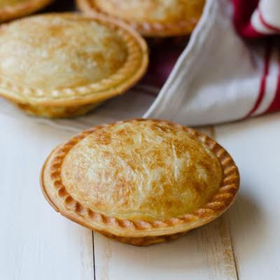 Satay Chicken Pie