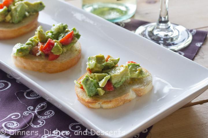Avocado Bruschetta Recipe